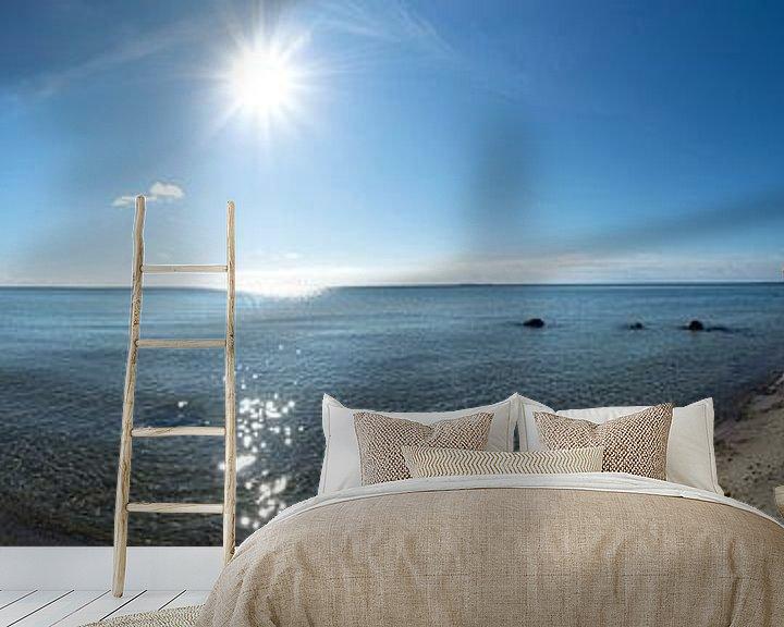Beispiel fototapete: Panorama, Naturstrand Lobbe, Halbinsel Mönchgut auf Rügen von GH Foto & Artdesign