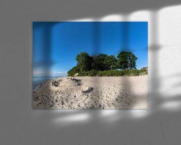 Sandburg, Naturstrand Lobbe von GH Foto & Artdesign