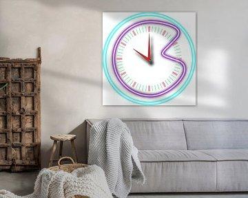 Zerbrochene Uhr von Piet Van Damme