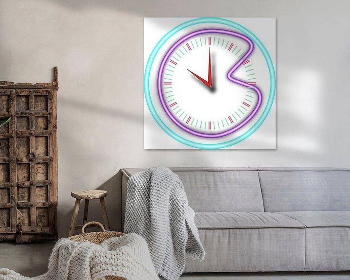 Beispiel: Zerbrochene Uhr von Piet Van Damme