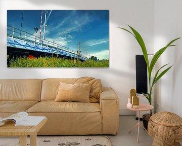 Nelson-Mandela-Brücke von Digital Art Nederland