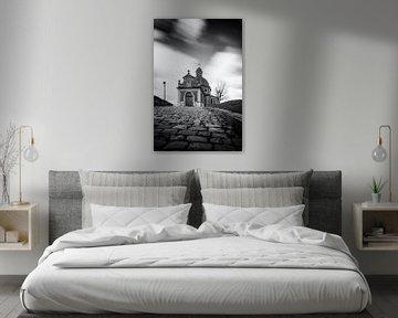 Die Mauer von Geraardsbergen von Jim De Sitter