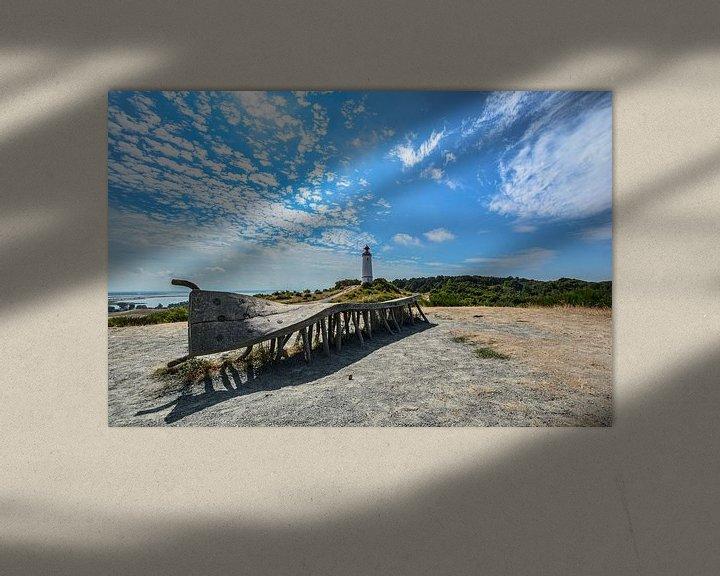 Beispiel: Die wohl berühmteste Bank auf der Insel Hiddensee von GH Foto & Artdesign