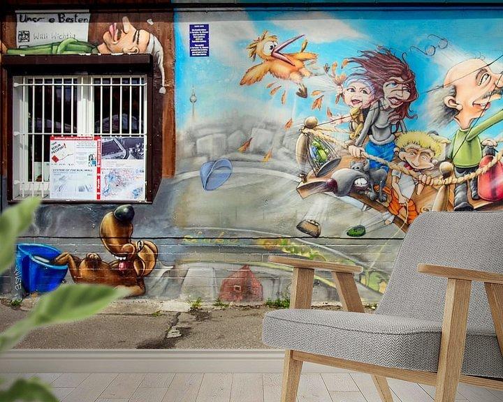Sfeerimpressie behang: Berlijnse Muur van Foto Amsterdam / Peter Bartelings