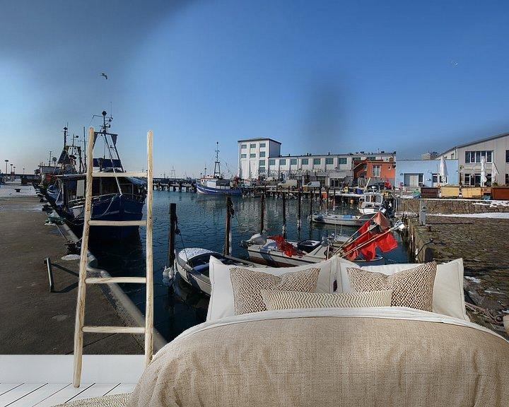 Beispiel fototapete: Hafen Sassnitz, Insel Rügen von GH Foto & Artdesign