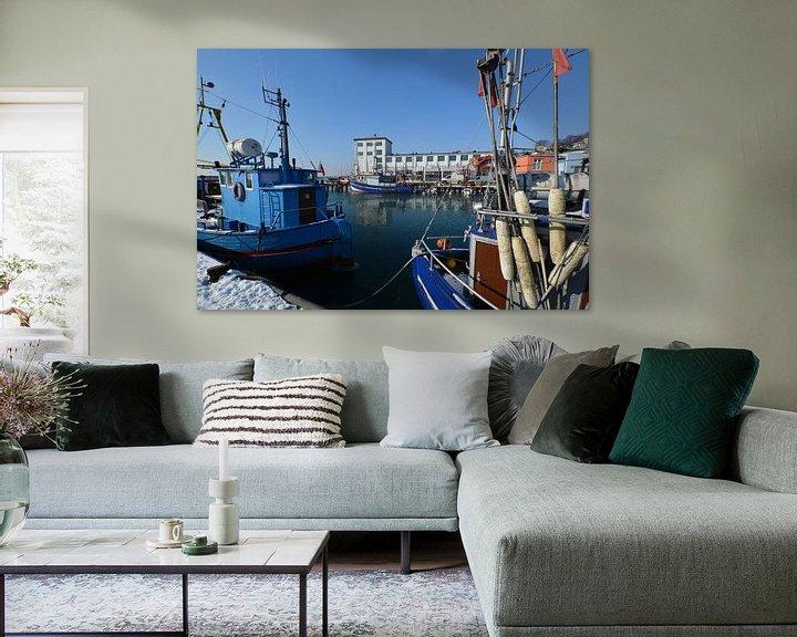 Beispiel: Hafen Sassnitz, Insel Rügen von GH Foto & Artdesign