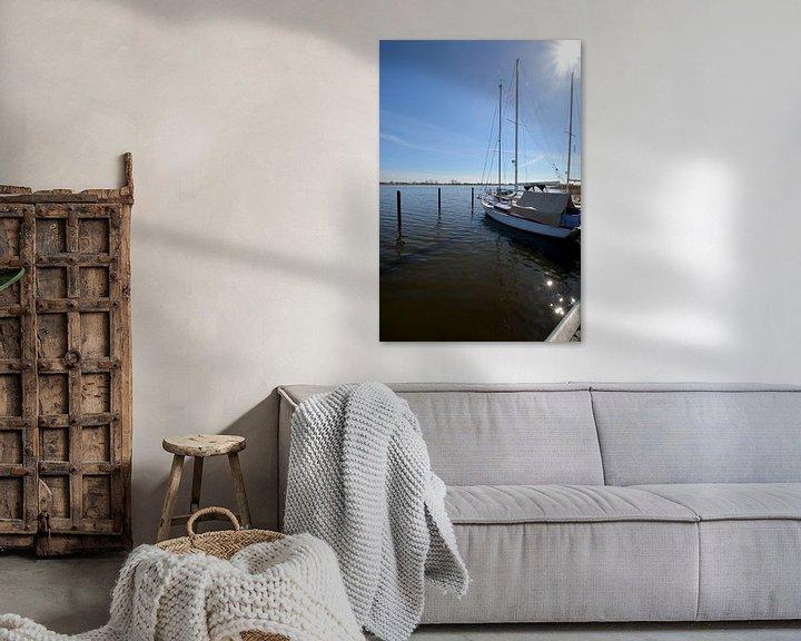 Beispiel: Segelschiffe im Hafen Puddemin auf Rügen von GH Foto & Artdesign