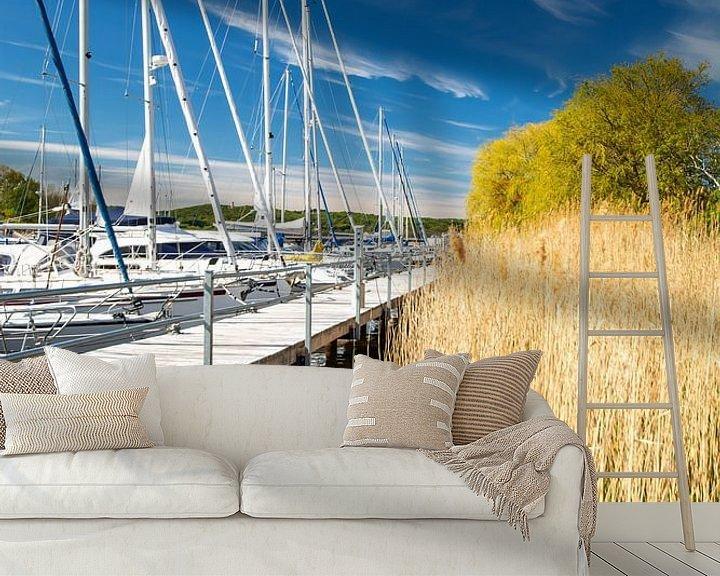 Beispiel fototapete: Hafen Seedorf, Insel Rügen von GH Foto & Artdesign