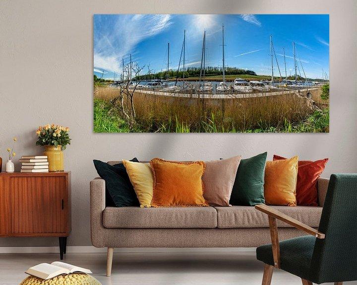 Beispiel: Panorama Hafen Seedorf, Insel Rügen von GH Foto & Artdesign