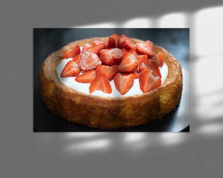 Impression: Gâteau aux fraises sur Annemieke Glutenvrij
