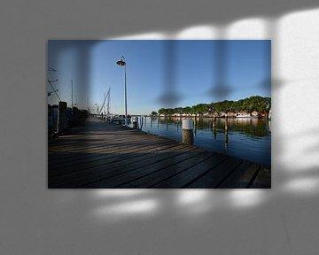 jetée dans le port de Lauterbach sur GH Foto & Artdesign