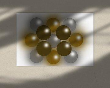 Abstract The color of wealth van Brian Morgan