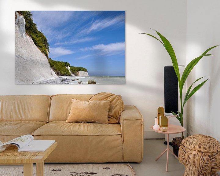 Beispiel: Kreidefelsen in der Stubbenkammer - Kreideabruch von GH Foto & Artdesign