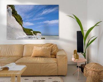 Kreidefelsen in der Stubbenkammer - Kreideabruch von GH Foto & Artdesign