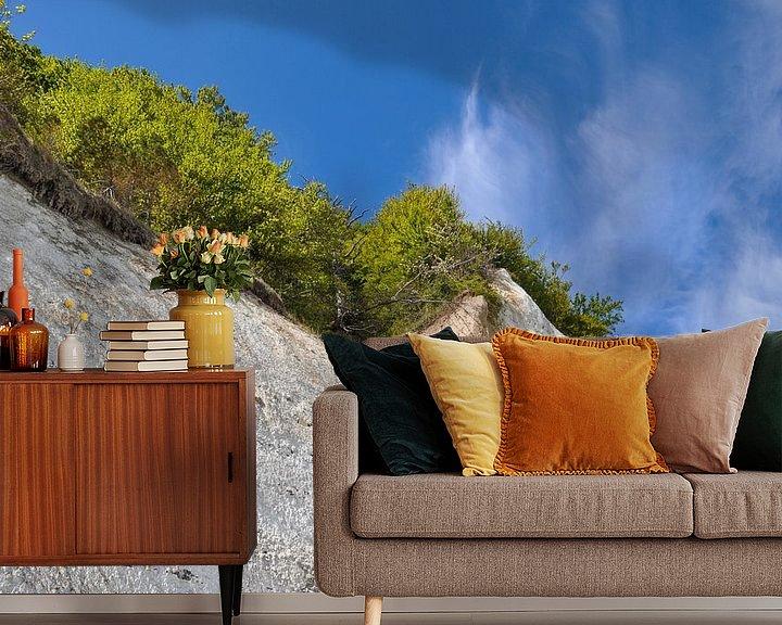 Beispiel fototapete: Kreidefelsen in der Stubbenkammer - Kreideabruch von GH Foto & Artdesign