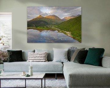 Scotland Isle of Skye Glencoe valley von Peter Haastrecht, van