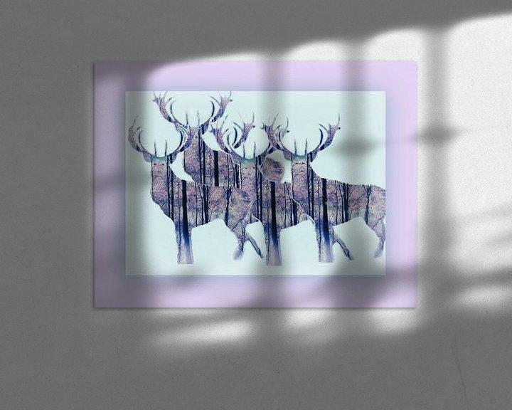 Beispiel: Hirsch-Show von Vera Laake
