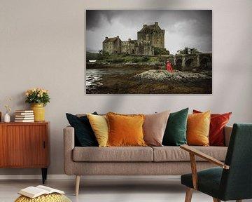 Eilean Donan Castle Schottland Isle of Skye von Peter Haastrecht, van