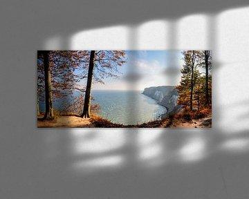 Krijtrotsen - Herfst bij de Stubbenkammer van GH Foto & Artdesign