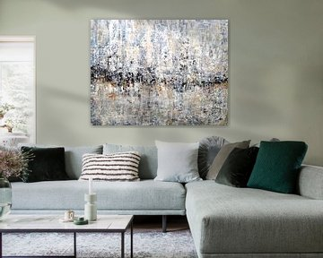 Abstrakte Landschaft 3 von Christian Carrette