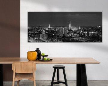 Die Skyline der Stadt Groningen