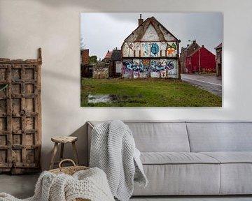 Geisterstadt Doel (Antwerpen): Abgerissenes Haus von Martijn Mureau