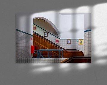 Die Aufzüge des Fußgängertunnels Sint-Anna, Antwerpen von Martijn Mureau