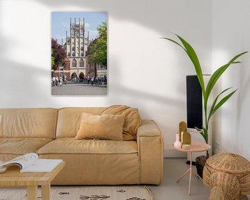 Rathaus Blick vom Domplatz , Münster in Westfalen, Nordrhein-Westfalen,  Deutschland, Europa von Torsten Krüger