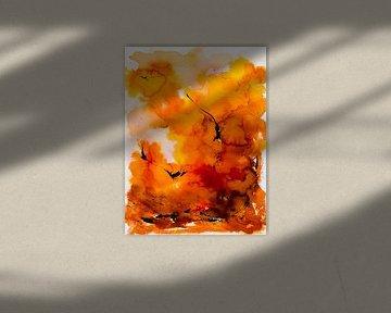 SUNSET-TAUCHEN von Ted van den Aarssen