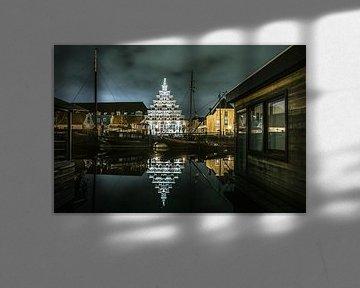 Städtische Zimmerei am Galgewater in Leiden von Dirk van Egmond