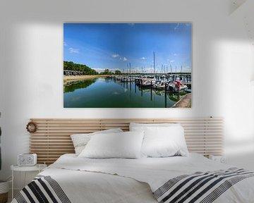 Yachthafen, Marina  Gustow, Naturhafen, Rügen von GH Foto & Artdesign