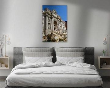 Italien, Rom, Trevi-Brunnen, Wasser von Stanley Kroon