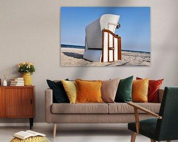 Strandkorb zwischen Lobbe und Thiessow auf Rügen von GH Foto & Artdesign