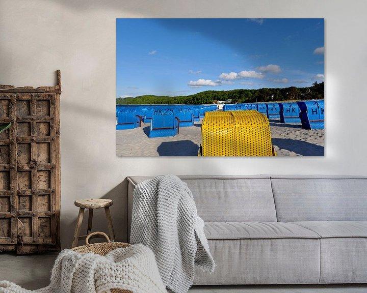 Beispiel: Strandkörbe in Binz, Rügen von GH Foto & Artdesign
