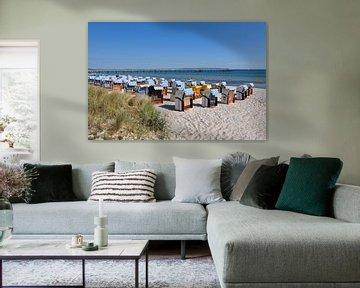 Chaises de plage à Binz, Rügen sur GH Foto & Artdesign