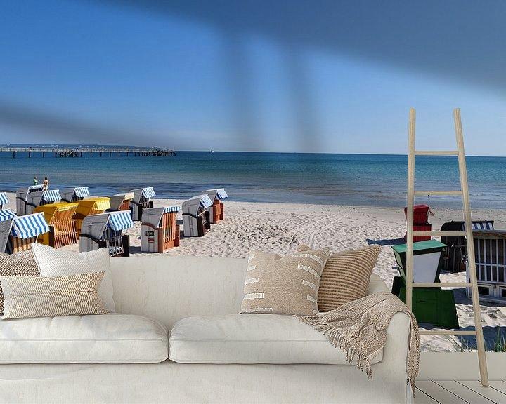 Impression: Chaises de plage à Binz, Rügen sur GH Foto & Artdesign