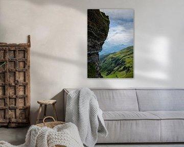 Rots in de Alpen van Nina Haverkamp