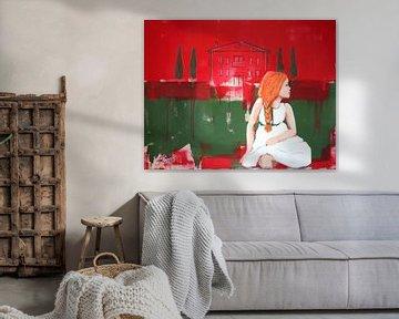 Es war einmal eine Prinzessin mit rotem Haar... von Petra Kaindel