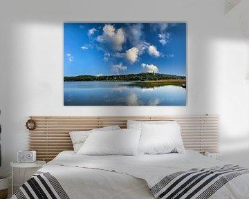 Lagune in Lietzow, Großer Jasmunder Bodden, Rügen von GH Foto & Artdesign