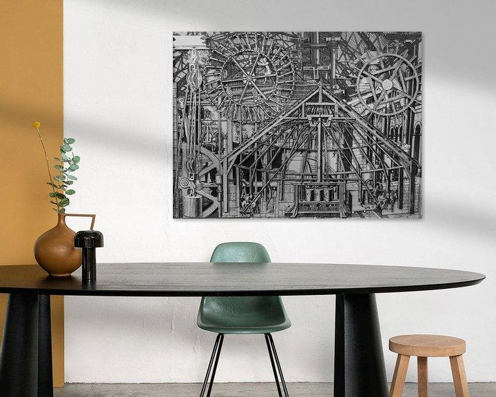 Sfeerimpressie: Collage in zwart-wit - afbeeldingen uit boek over techniek van Oscarving