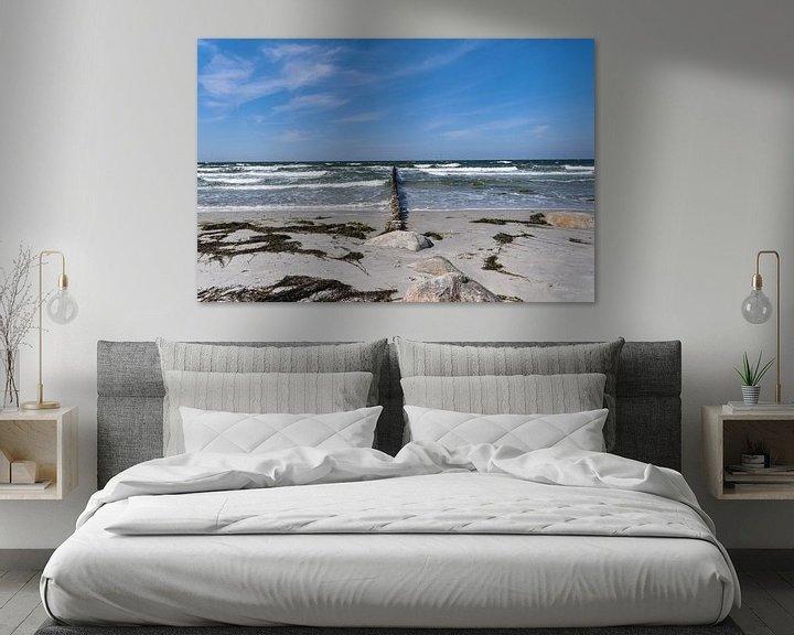 Beispiel: Buhnen in der Brandung, Insel Hiddensee von GH Foto & Artdesign