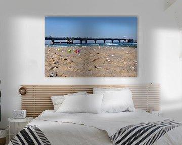Ostereier am Nordstrand in Göhren auf Rügen von GH Foto & Artdesign