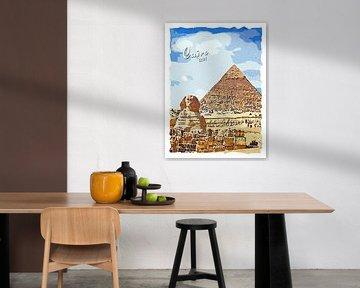 Kairo von Printed Artings