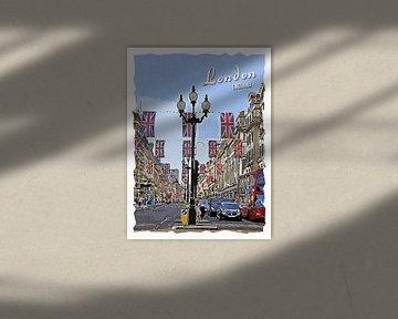 Londres sur Printed Artings