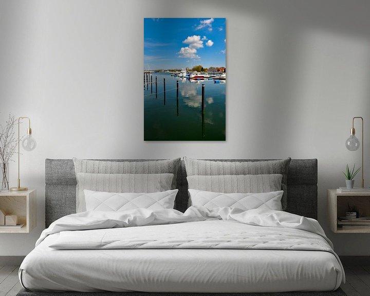 Beispiel: Marina Wiek, Yachthafen Wiek, Rügen von GH Foto & Artdesign