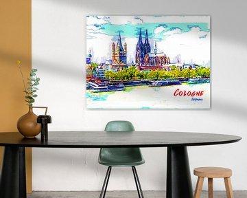 Köln von Printed Artings