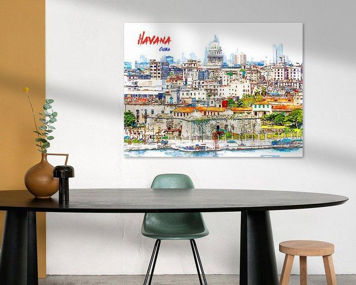 Beispiel: Havanna von Printed Artings