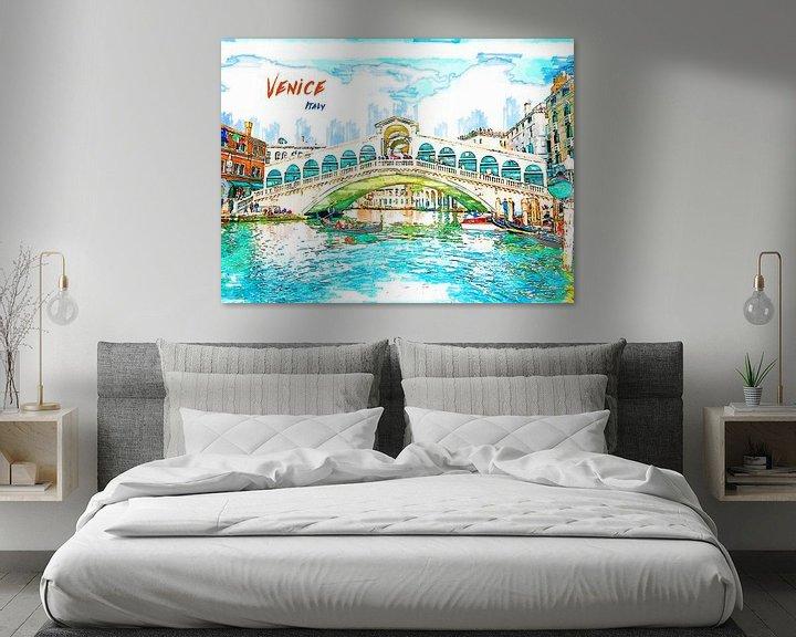 Beispiel: Venedig von Printed Artings