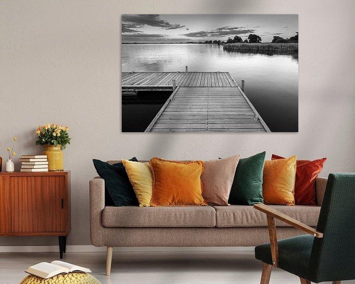 Sfeerimpressie: Een avond aan het Leekstermeer van Henk Meijer Photography