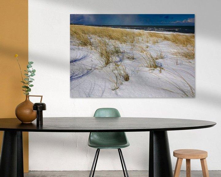Beispiel: Ostsee Winterabend von Thomas Jäger